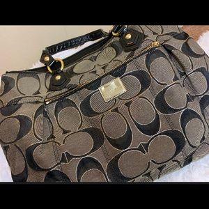Cloth Coach bag